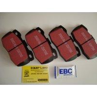 4 plaquettes AV Defender EBC