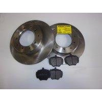 Kit freins disques AR LR