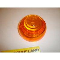plastic feu orange clignotant