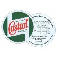 Sticker vidange CASTROL